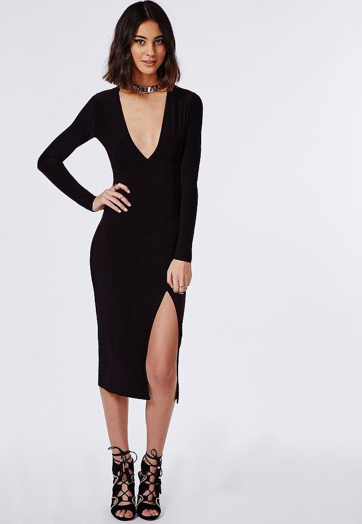 да, черное платье для девушки с большой грудью следующий день также